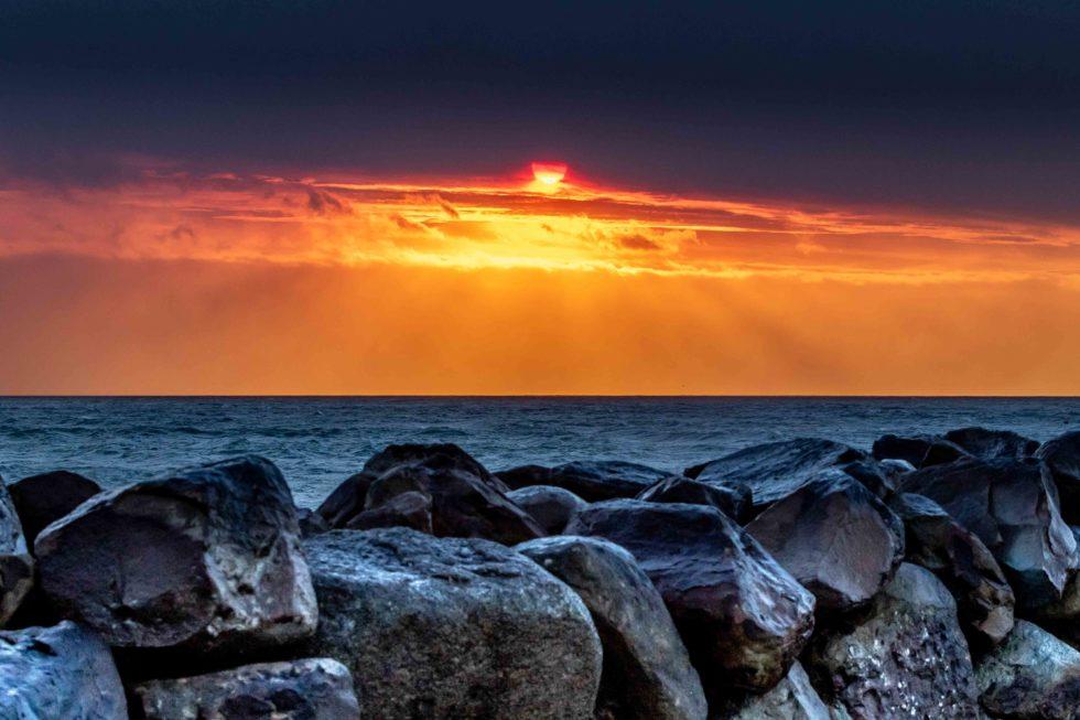 Sunset Fire 2019